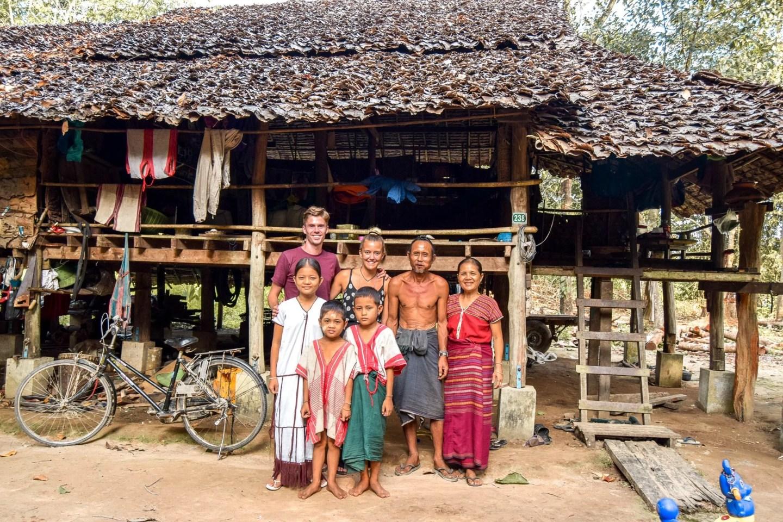 Wanderers & Warriors - Charlie & Lauren UK Travel Couple - Why To Visit Mawlamyine & Hpa An In Myanmar - Gong Thar Phaung Village - Vegetarian Village