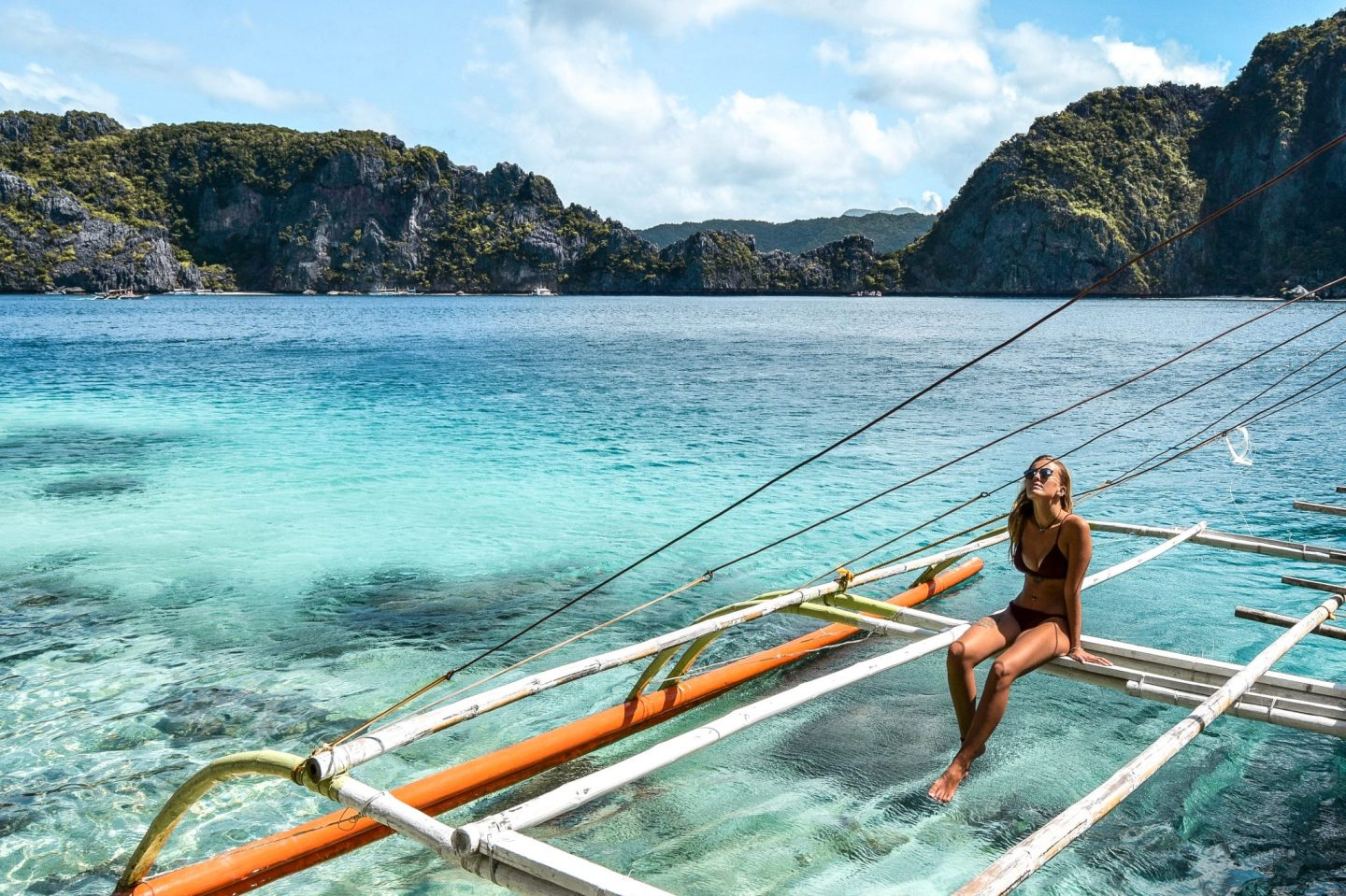 Wanderers & Warriors - Charlie & Lauren UK Travel Couple - Tour Packages In El Nido & Things To Do In El Nido - Boat Tour A & C