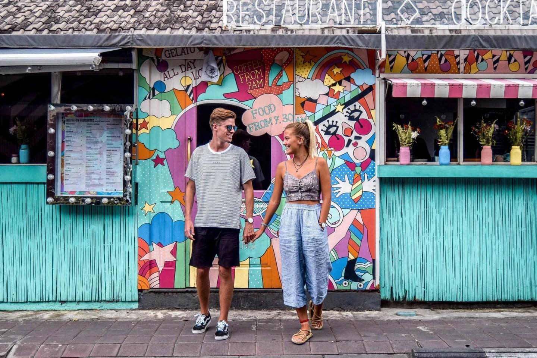 Wanderers & Warriors - Charlie & Lauren UK Travel Couple - Sea Circus Seminyak - Best Restaurants In Seminyak Restaurants