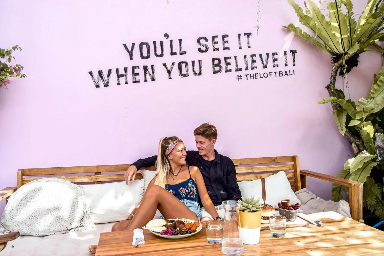 Wanderers & Warriors - Charlie & Lauren UK Travel Couple - Things To Do In Canggu - The Loft Bali