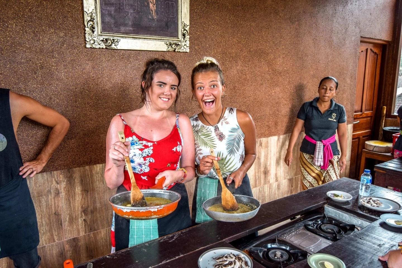 Wanderers & Warriors - Charlie & Lauren UK Travel Couple - Cooking Class Ubud - 8 Things To Do In Ubud