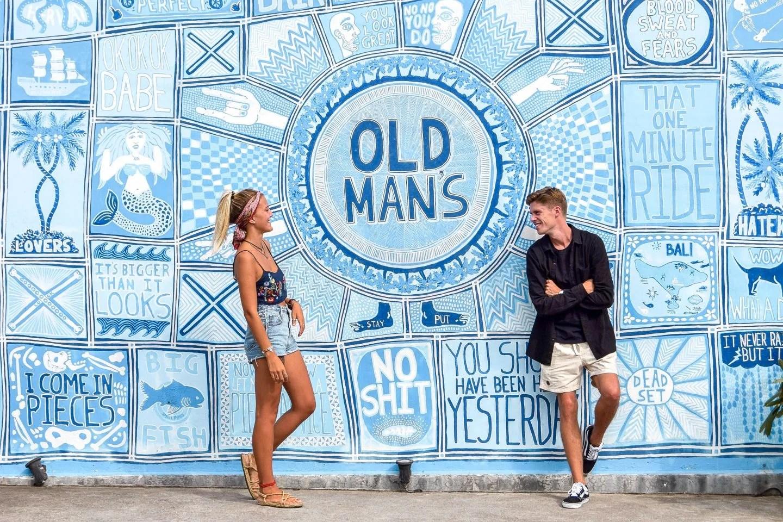 Wanderers & Warriors - Charlie & Lauren UK Travel Couple - Old Mans - 13 Things To Do In Canggu Bali