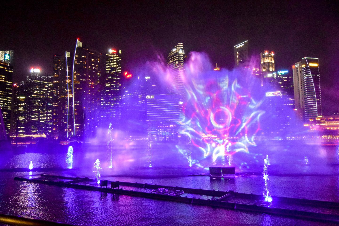 Wanderers & Warriors - Marina Bay Light Show - Best Things To Do In Singapore Itinerary
