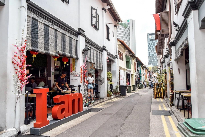 Wanderers & Warriors - Haji Lane Singapore
