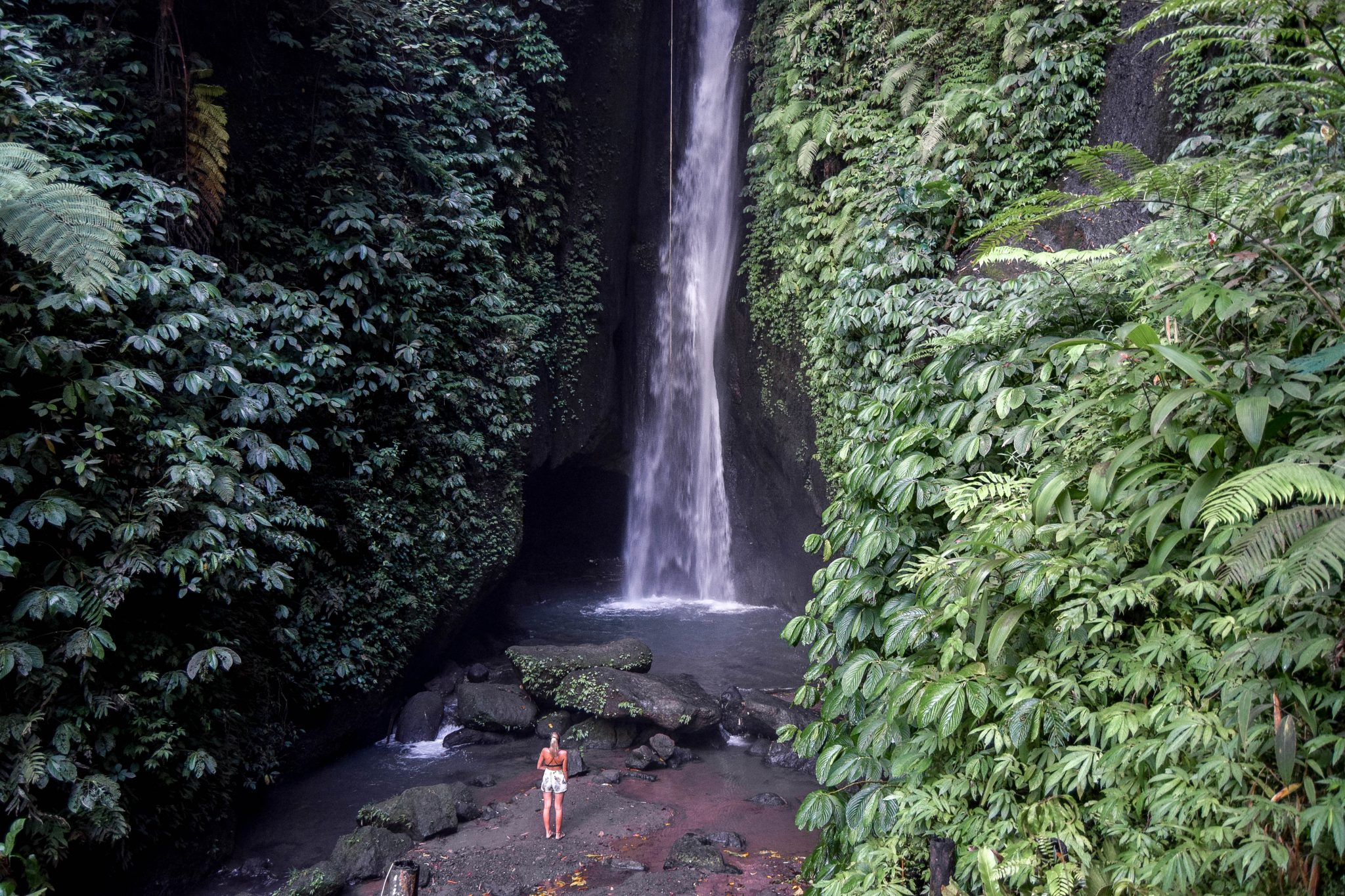 Wanderers & Warriors - Charlie & Lauren UK Travel Couple - Leke Leke Waterfall Bali - An Awesome Day Trip - Bali Waterfalls - Best Waterfalls In Bali - Waterfalls Near Ubud