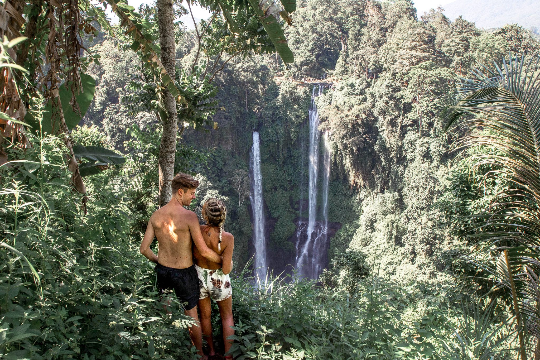 Wanderers & Warriors - Charlie & Lauren UK Travel Couple - Sekumpul Waterfall Bali - Air Terjun Sekumpul - best waterfalls in bali - bali waterfalls