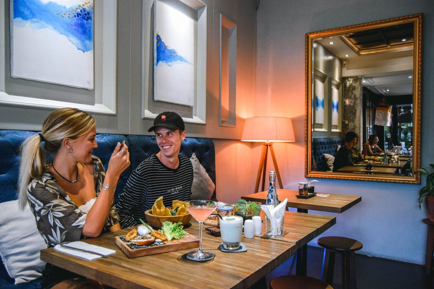 Wanderers & Warriors - Charlie & Lauren UK Travel Couple - Doncaster Eatery Restaurant Seminyak Bali - Best Restaurants In Bali Food - Best Restaurants In Seminyak