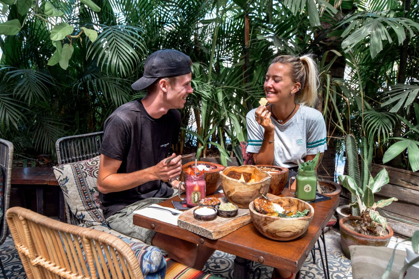 Wanderers & Warriors - Charlie & Lauren UK Travel Couple - Strawberry Fields Seminyak Bali - Best Restaurants In Bali Food - Best Restaurants In Seminyak Bali - Best Restaurants In Bali Food - Best Restaurants In Seminyak