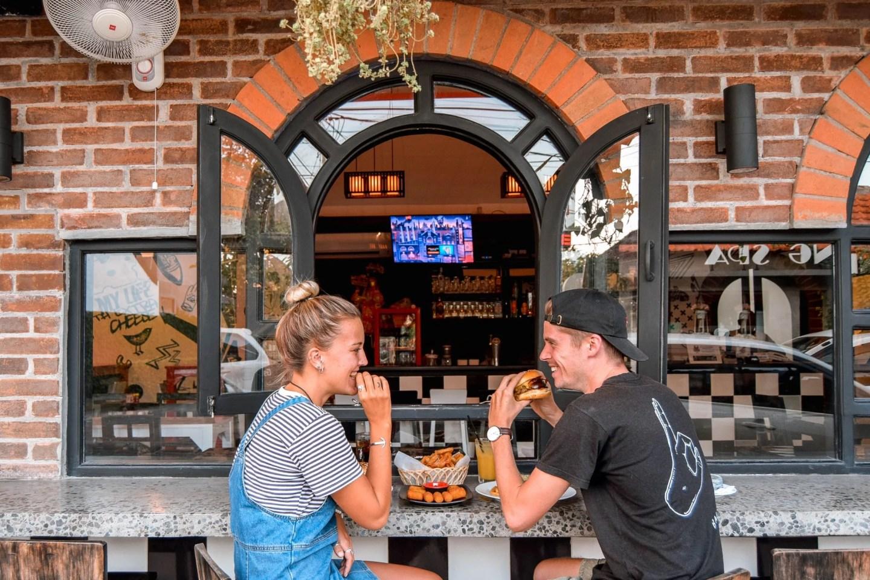 Wanderers & Warriors - Charlie & Lauren UK Travel Couple - Fatboy's Burger Bar Bali - Best Restaurants In Bali Food - Best Restaurants In Seminyak Bali - Best Restaurants In Bali Restaurants - Best Restaurants In Seminyak