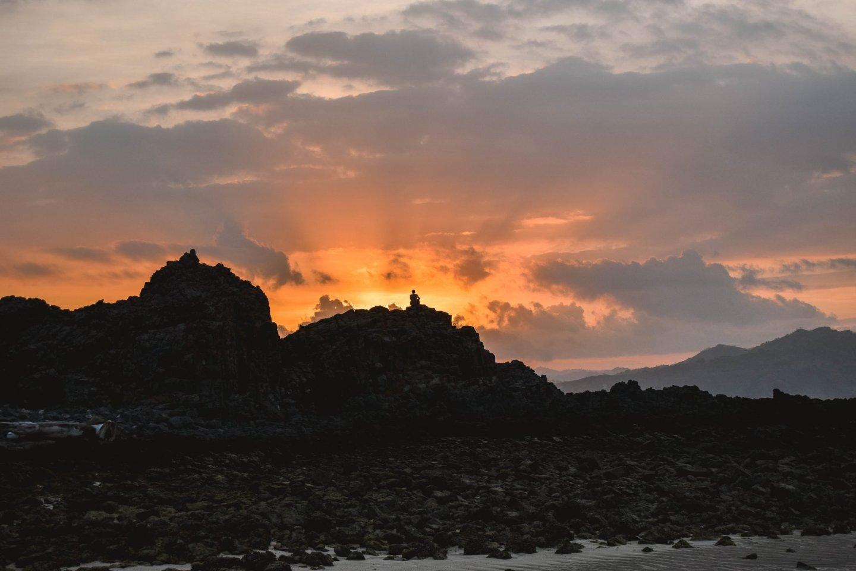 Wanderers & Warriors - Pantai Semeti Beach Lombok Sunset