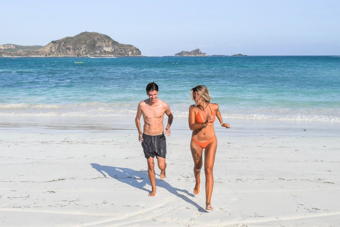 Wanderers & Warriors - Charlie & Lauren UK Travel Couple - Tanjung Aan Beach - Tanjung Aan Lombok - Pantai Tanjung Aan