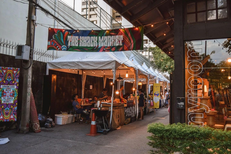 Wanderers & Warriors - Creative District Bangkok Creative District - The Knack Market Bangkok