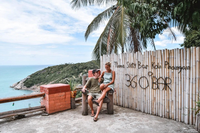 Wanderers & Warriors - Charlie & Lauren UK Travel Couple - Bars With The Most Incredible Koh Phangan Viewpoints Koh Phangan bars