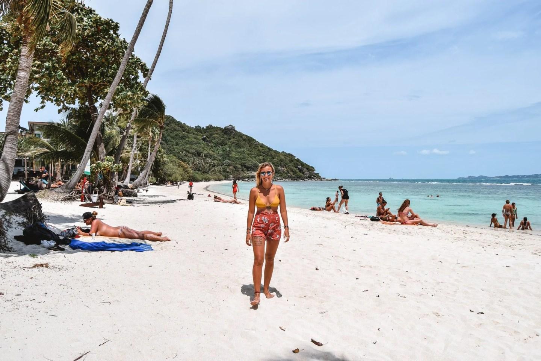Wanderers & Warriors - Charlie & Lauren UK Travel Couple - Leela Beach Koh Phangan Best Beaches Koh Phangan Beaches