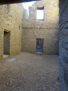 Inside Pueblo Bonito, Chaco