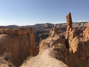 "<img src=""brycecanyon.jpg"" alt=""view from trail at Bryce, wandererwrites.com""/>"