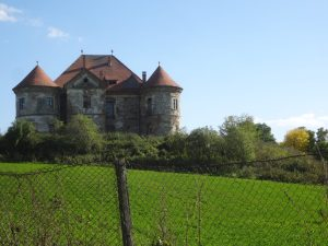The Castle of Ozd, Transylvania