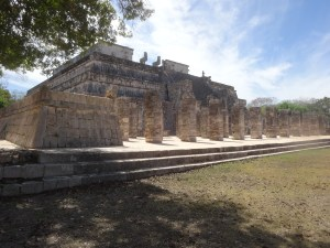 Temple of the Warriors. Chichen Itzá