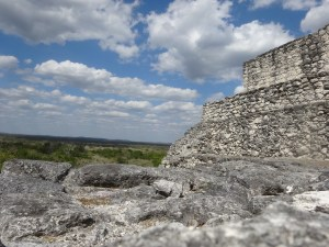 "<img src=""calakmulpyramid.jpg"" alt=""one of the pyramids in Clalakmul. Mexico. Wanderer writes.com""/>"