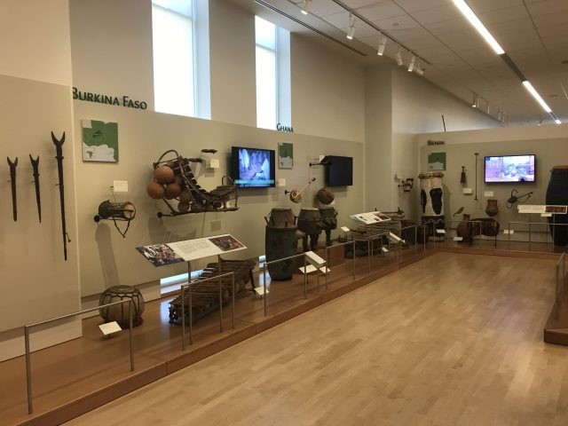 Africa and middle East Gallery at the MIM