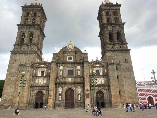 The Cathedral of the Immaculate Conception Puebla City Center
