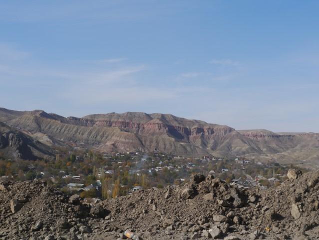 The scenery was generally not rubbish between Osh & Bishkek..