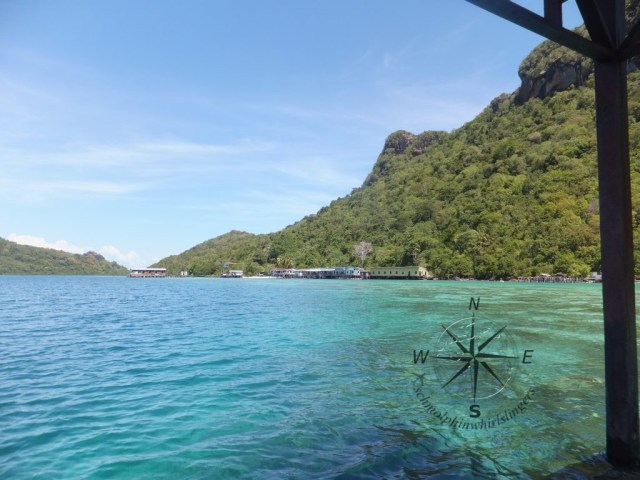 Explore Sabah Day 19: Bohey Dulang, Semporna - The blue hue water