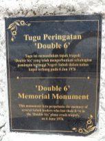 Double 6 Memorial Monument
