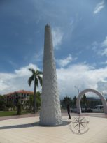 Double 6 Memorial Monument Erected on the spot of the accident