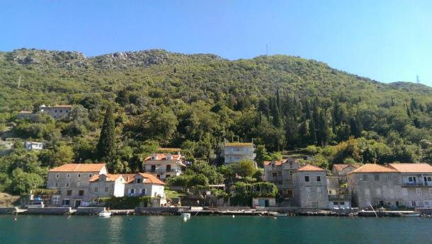 Ferry ride Montenegro, Budva Kotor Bay