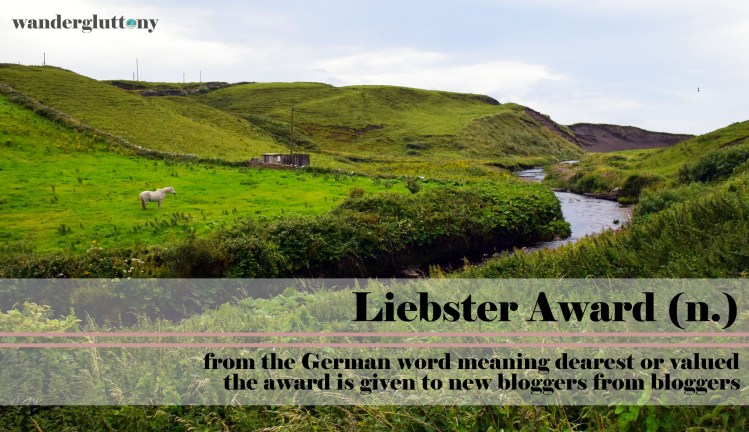 Liebster Award - discover new blogs