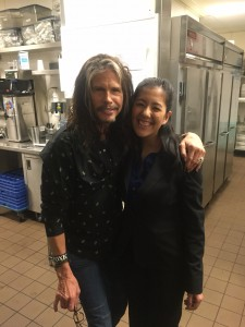 Working in Vegas meant meeting some pretty cool people like Steven Tyler. No big deal or anything.