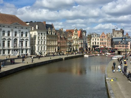 Ghent on the River Leie