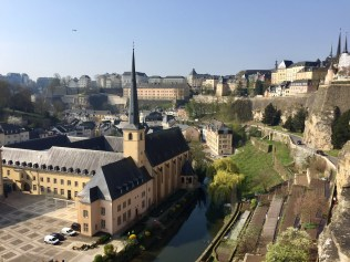 Luxembourg old city