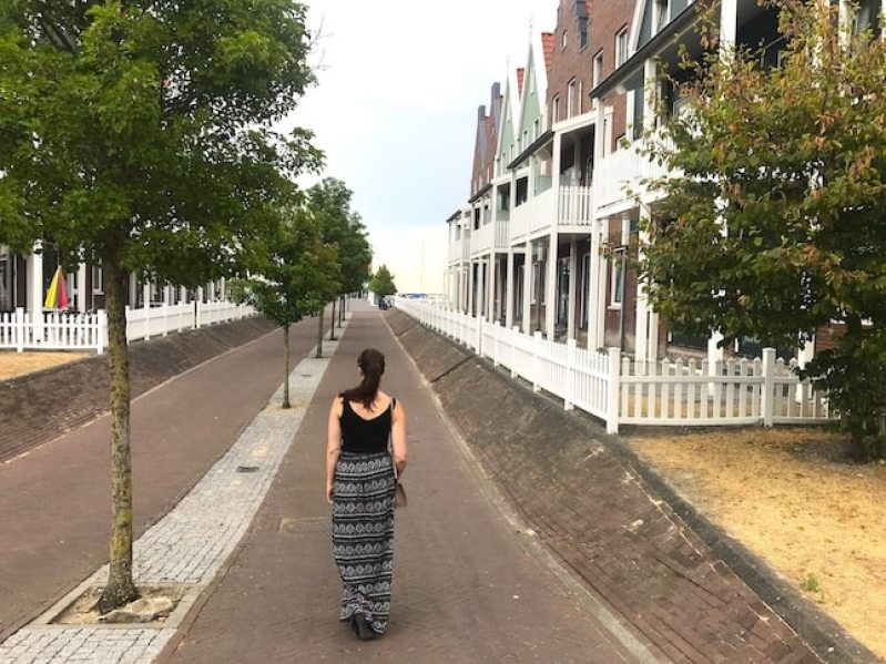 Visit Volendam- Holland's prettiest town. Here's everything you need to know to visit. #volendam #holland #netherlands #europe #travel #roadtrip