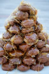 My Croquembouche for Our 10th Anniversary New Year's Eve Dessert.
