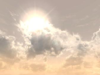 Daytime sky, Lonelands