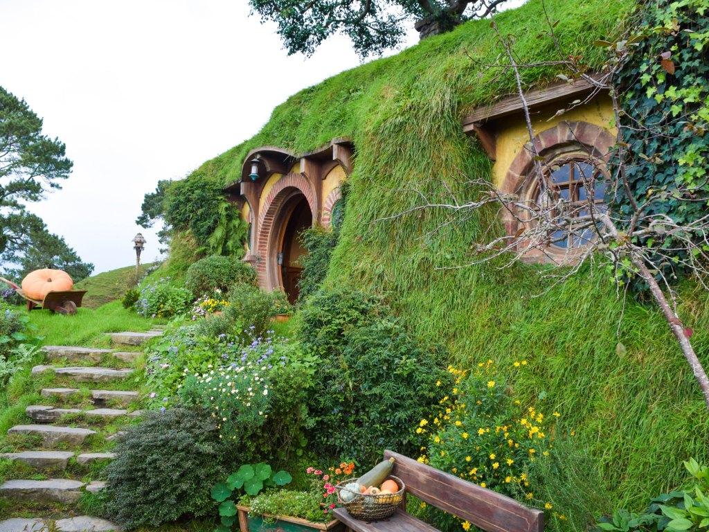 Hobbiton Movie Set, New Zealand