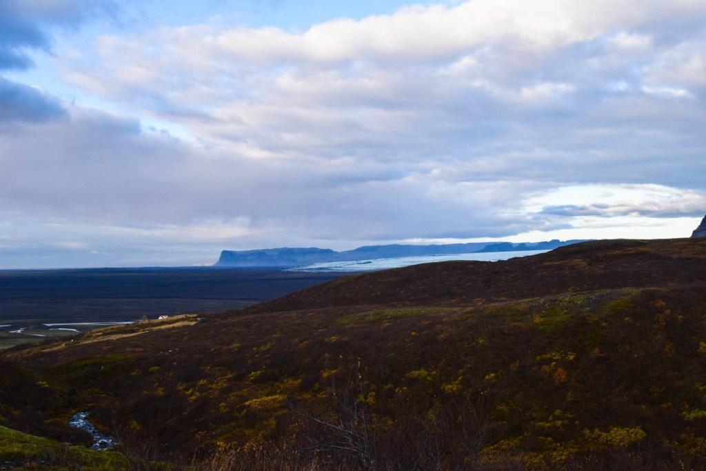 Views over Skaftafell National Park