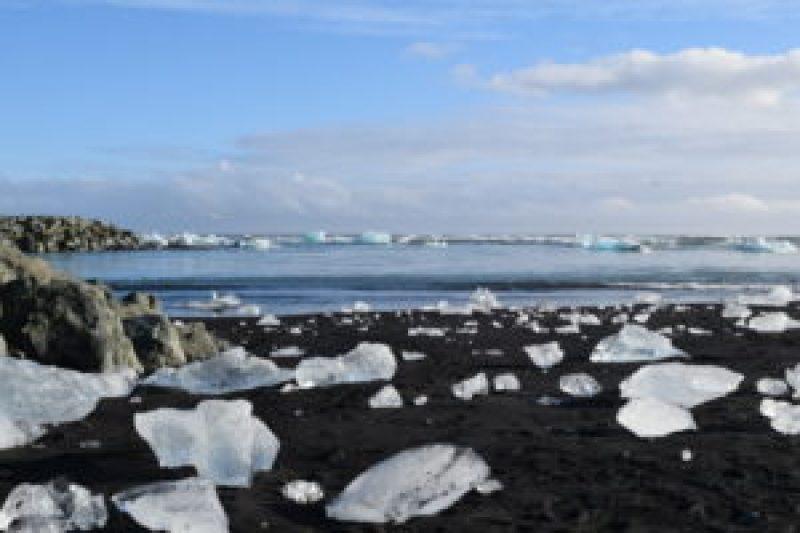 Jokulsarlon. Iceland's South Coast