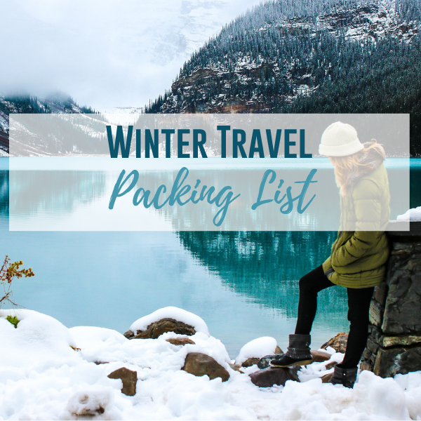 Winter Travel Packing List