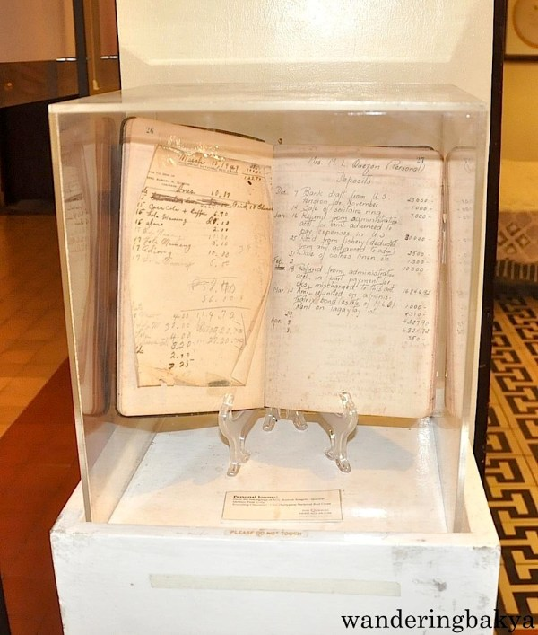 Doña Aurora's ledger. All amounts are in US dollars because the exchange rate at this time was Php1 = US $1. Those were the days.