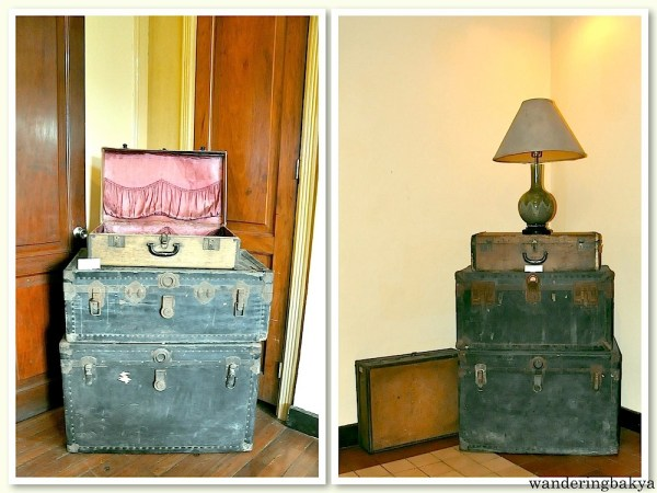 "The luggage of Manuel L Quezon and his only surviving child, Maria Zeneida ""Nini"" Quezon"