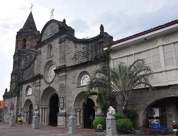 "The façade of Barasoain Church in Malolos, Bulacan. They say that Barasoain came from the words ""baras ng suwail"" (dungeon of the defiant) because it became a haven for those who had anti-Spanish sentiments."