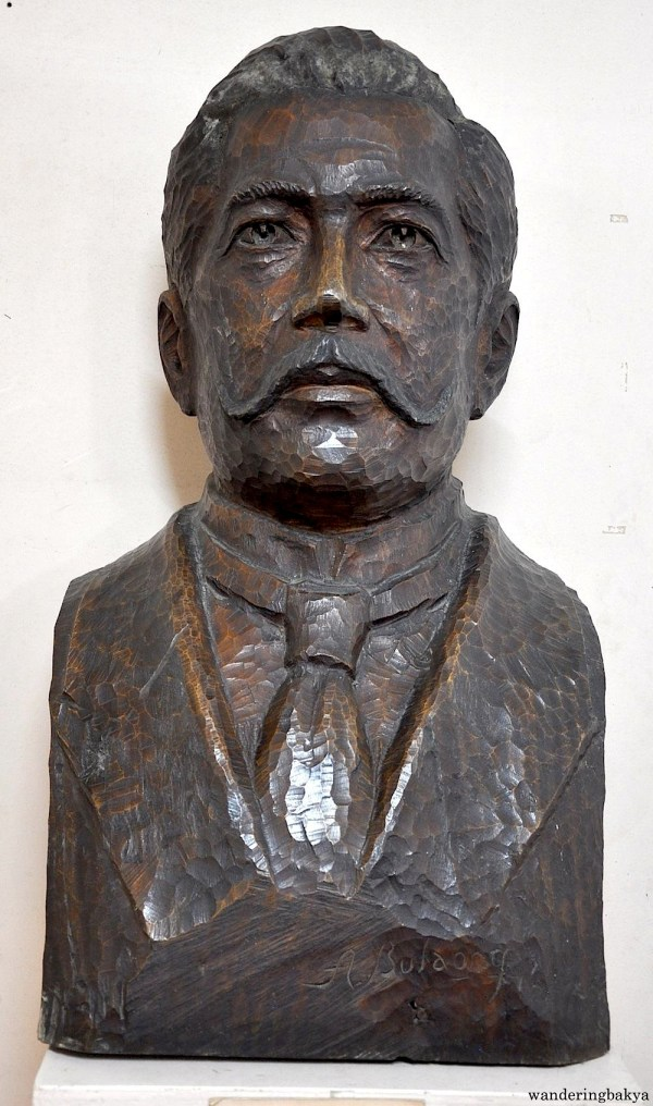 One of the busts of Marcelo H. del Pilar found in the museum