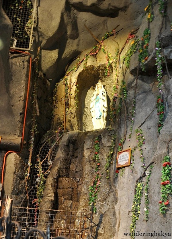 Also located in the church basement is an image of Our Lady. The water flows from the image to the area near the main door. Devotees believe that the water can heal any ailment.