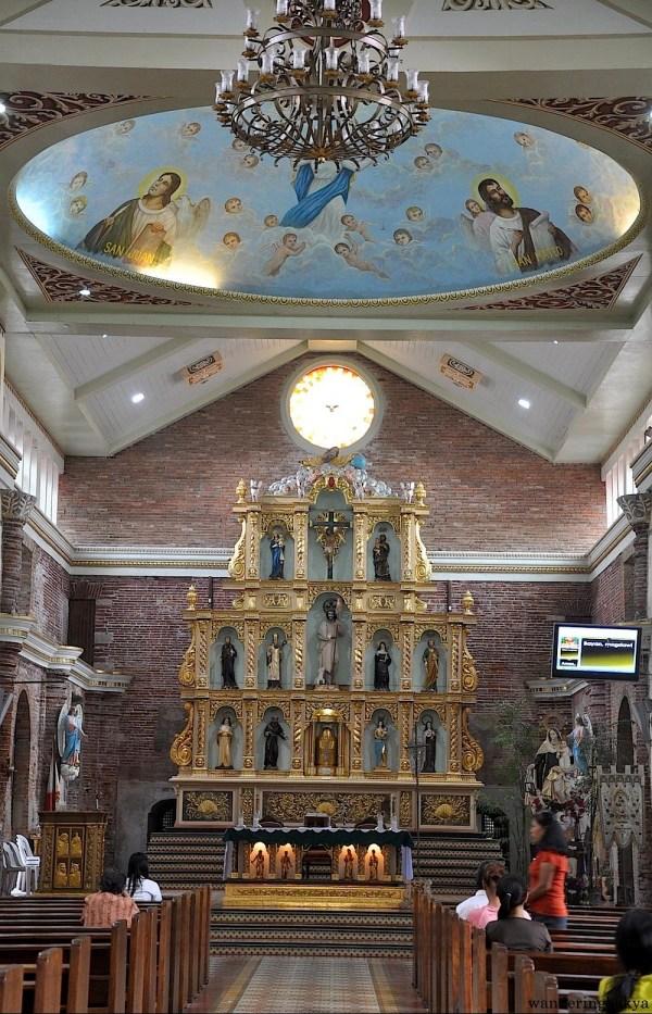 Inside St. John the Baptist Church