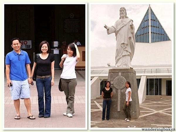 Our first Visita Iglesia – Manila. Photos by John