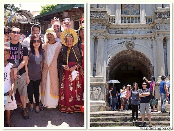 Our second Visita Iglesia – Rizal. Photos by John