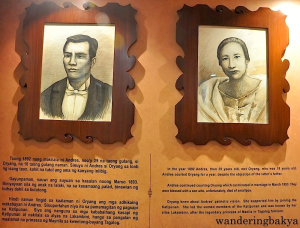 Andres Bonifacio and Gregoria de Jesus—ang Supremo at ang Lakambini ng Katipunan